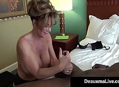 Milf Secretary Deauxma Gets Banged By Boss`s Big Black Cock!