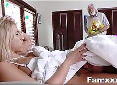 Hot Step Mom Fucks Son Under The cover  Famxxx.com
