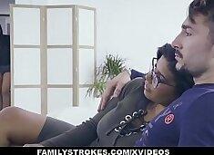 FamilyStrokes - Hot Latin Twin (Sheyla) (Keysha) Compete For Cock