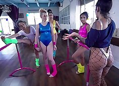 GIRLS GONE WILD - We Interrupt Melody Parker and Claire Black`s Ballet Class