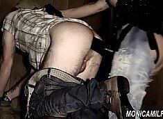Dirty femdom barn girl with Norwegian Monicamilf