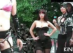 Nasty chick t. slave