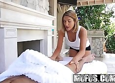 Mofos - Pornstar Vote - August Amess Oiled Up Titties starring  August Ames