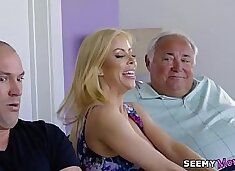 Alexis Fawx - I took my father`s pills so I need my mom`s help!