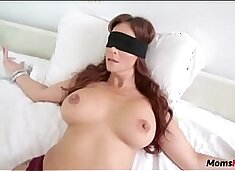 BLINDFOLD MOM THOUGHT IT WAS DADs DICK