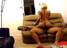 Ebony Teen Dick Riding