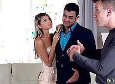 Gina Gerson sucks off Boyfriends designer for a discount