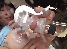 First Breast Milk Large Injection Iki Nozomi Hazuki