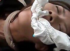 Forced female lawyer Riko Tachibana