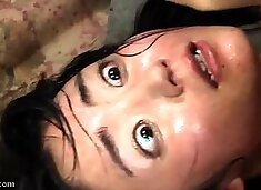Lovely Asian teen learns a lesson in bondage and rough sex