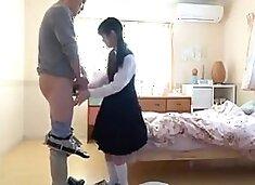 Japanese dad fucking daughter