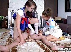 Teen school girl Cosplay Queens