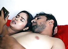 Indian school babe got fucked by uncle