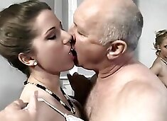 Old Pervert fucks Two Young Girls