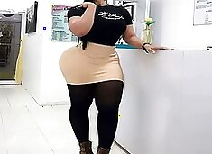 Thick ass latin fitness queen gladiolis