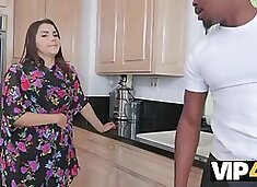 VIP4K. Black plumber doesnt lose a chance to fuck the Italian whore