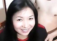 Gorgeous Chinese Girl vs Little Chinese Pro Wrestler