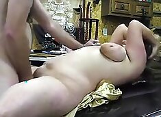 Homemade mom son adult XXX caught on cam during intense