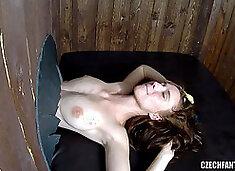 Beautiful Glory Hole Girls Get Huge Load of Cum