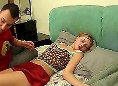 Deep Penetration Of Drunk Girl