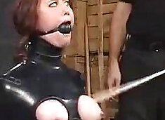 Pet Girl Latex Bondagel