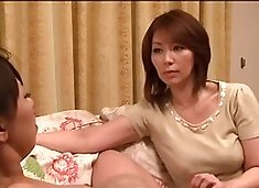 Ryoko Murakami Chisato Shoda - love each other - fist lesbian fist confirmed by the pleasure of beautiful mature woman