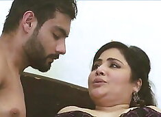 Horny Indian mom fucked hard by son`s friend