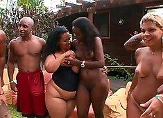 Amazing pornstar Agatha Moreno in incredible black and ebony, big ass porn video