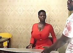 African Goddess with Massive Tits