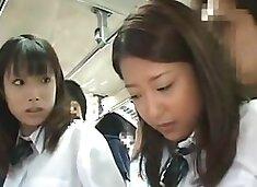 japanese schoolgirl fuck abused bus