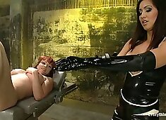 Incredible latex, ebony porn clip with fabulous pornstars Kylie Ireland and Isis Love from Everythingbutt