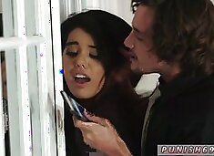 Cute teen gagging first time Stealing For The FUCK Of It