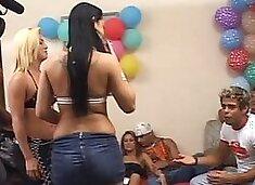 Brazillian party turns into an fuckfest